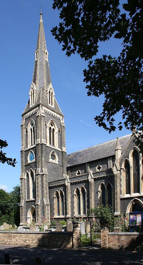 St. Mary's Church, Hanwell, London