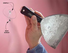 Fixing nail pops, stress & settling cracks plus more from the Family Handyman.