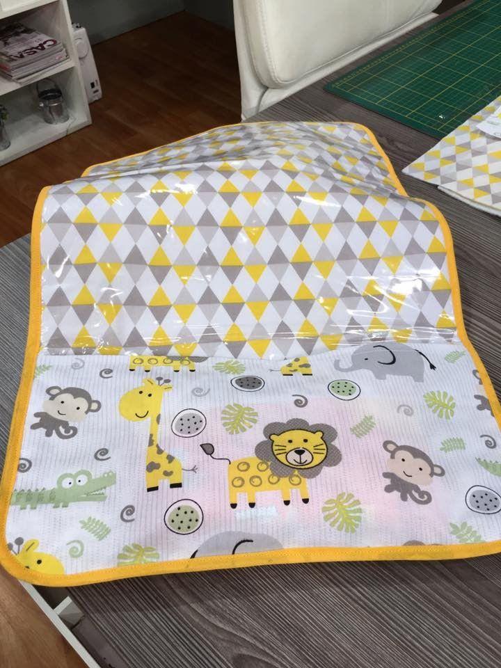 Como fazer um trocador de bebê com bolso - 13/06/16 - 1a parte