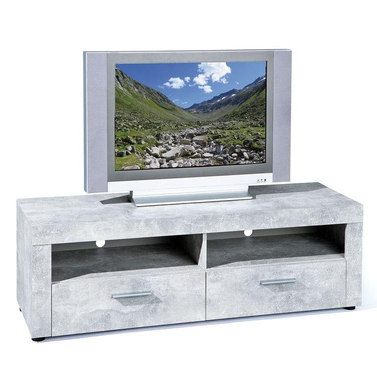 Die besten 25+ Tv möbel beton Ideen auf Pinterest Moderne tv - beton wohnzimmertisch