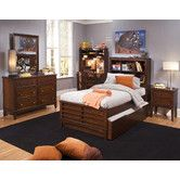 Found it at Wayfair - Chelsea Square Youth Panel Bookcase Bedroom Collection