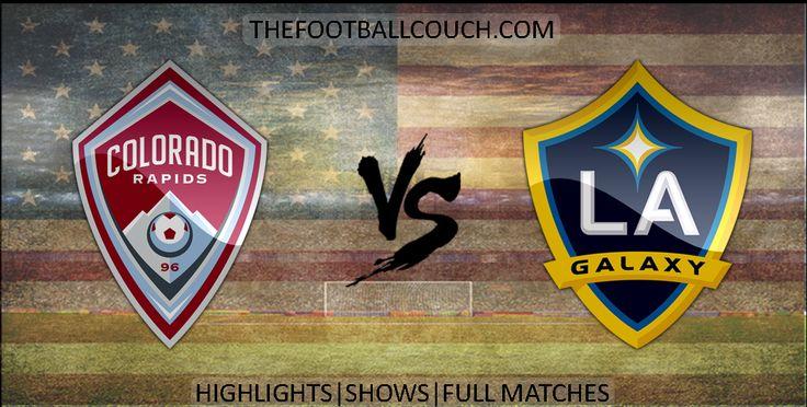 [Video] MLS  Colorado Rapids vs LA Galaxy Highlights - http://ow.ly/ZoELM - #ColoradoRapids #LAGalaxy #mls #soccerhighlights #footballhighlights #football #soccer #thefootballcouch