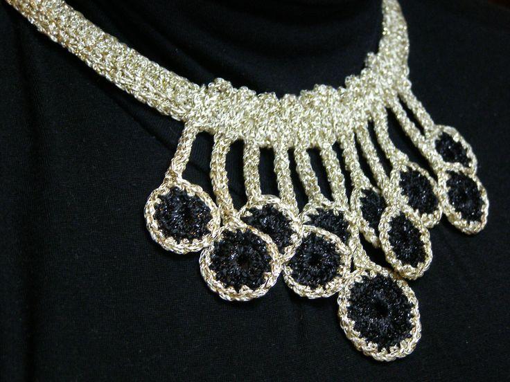 crochet, necklace, 2014 , summer