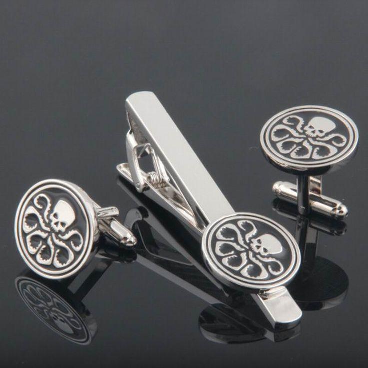 Aliexpress.com: Comprar 2016 de la alta calidad Clip de corbata mancuerna conjunto macho Stickpin Super Hydra gemelos y corbata Set Clip de clip de corbata micrófono fiable proveedores en K&L JEWELRY CO., LTD