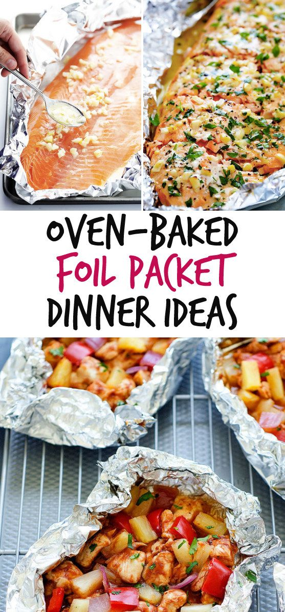12 Simple Foil Packet Dinners You Can Bake In The Oven