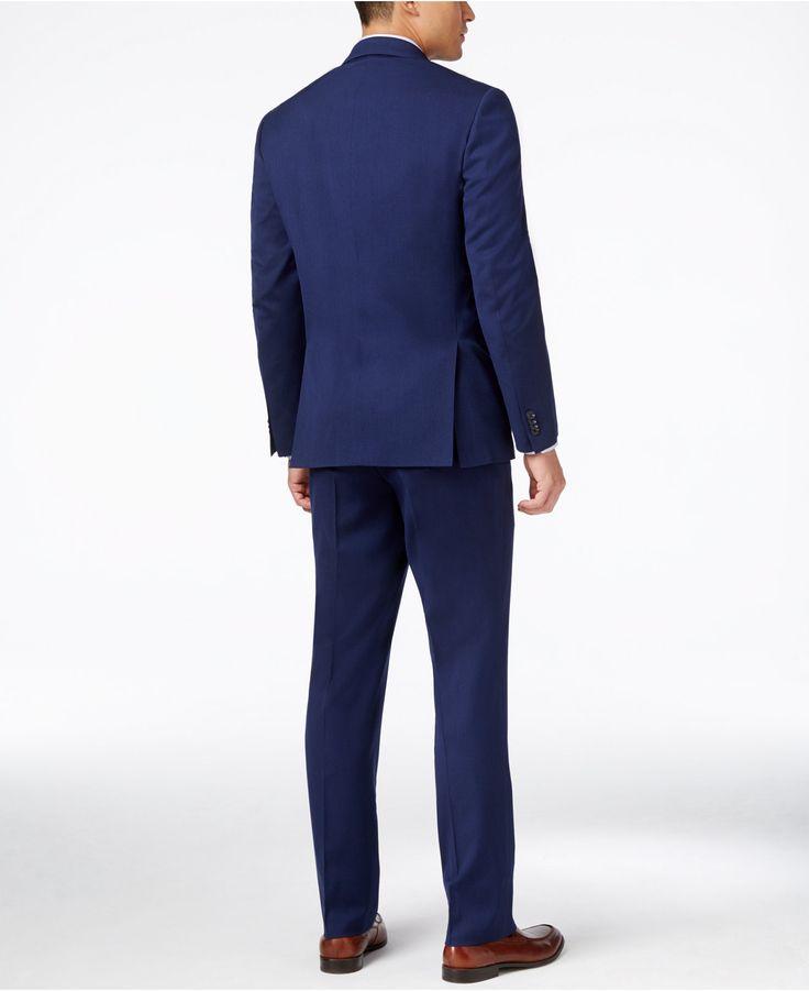 Men's Bright Blue Slim-fit Suit Sale At Micostar Mall - Fashion - Nigeria
