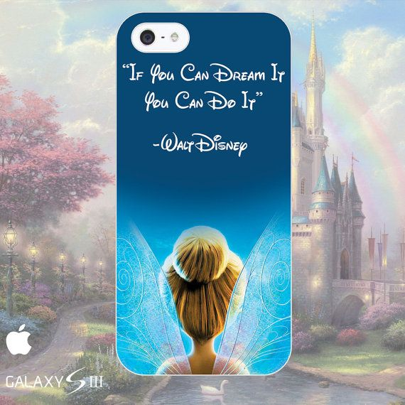 Disneys Tinkerbell Quote Phone Cases iPhone 4 5 by ThatGiftSite, £8.95