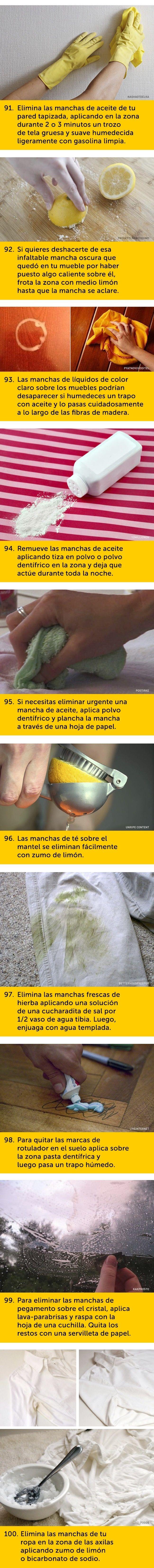 100 Trucos útiles que teayudarán entuvida diaria