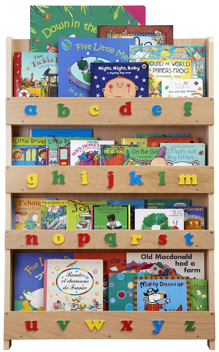Tidy Books Children's Lowercase Bookcase - Natural - Best Price  #DiaperscomNursery