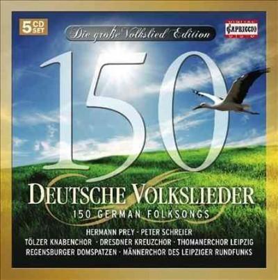 Mannerchor Des Leipziger Rundfunks - 150 German Folksongs, Pink