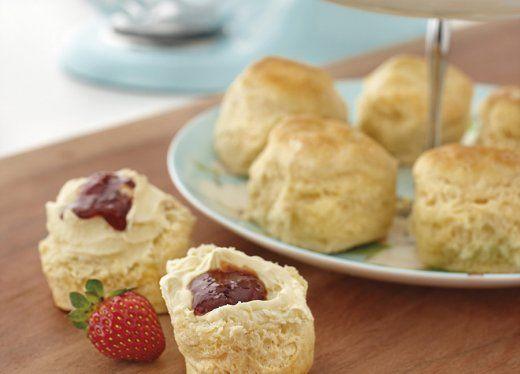 Make scones in KitchenAid mixer