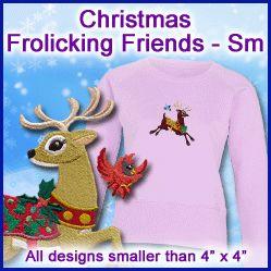 A Christmas Frolicking Friends Design Pack - Sm