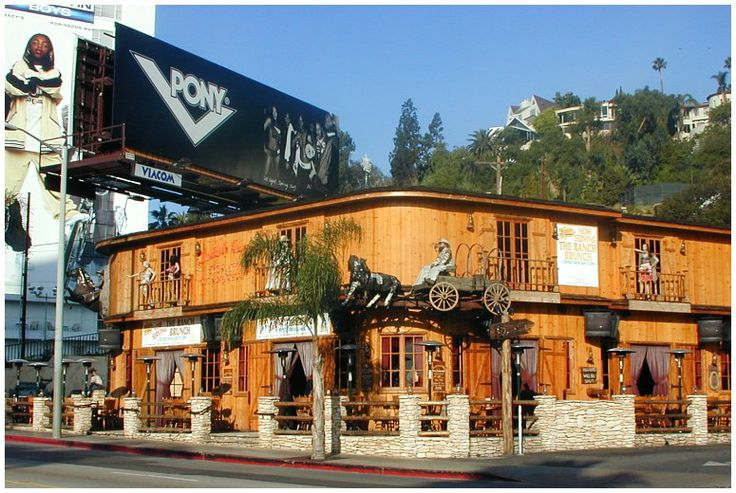 Saddle Ranch western style Restaurant and Chop House 8371 Sunset Boulevard