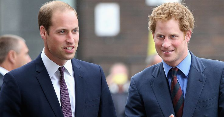 Why Prince William and Prince Harry Mark Their Shoes | POPSUGAR Celebrity