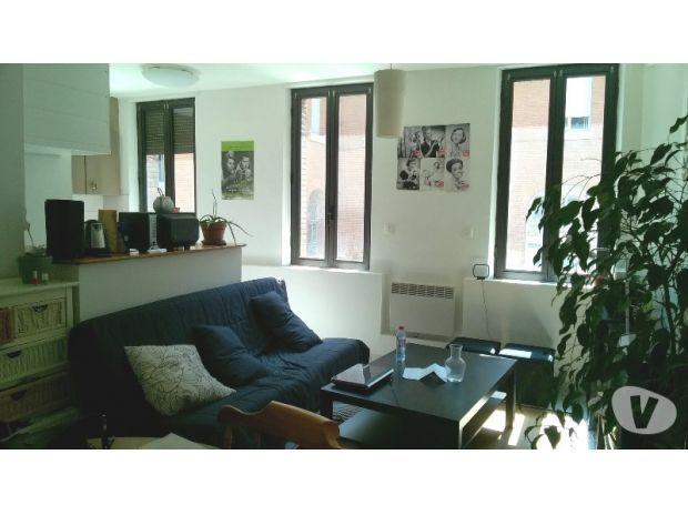 TOULOUSE CENTRE METRO J.D ARC CALME 31M2 COIN CHAMBRE Toulouse - 31000 - Location appartement