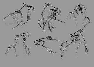joma santiago: Eagle and Owl character designs