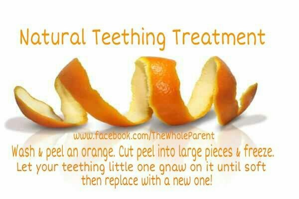 Natural teething treatment