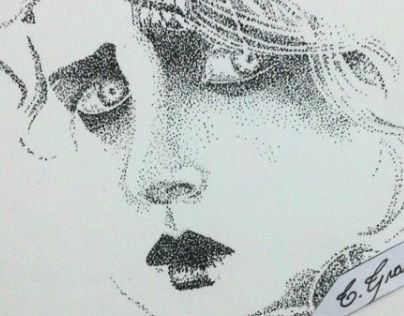 pontilhismo; pointillism; drawing;