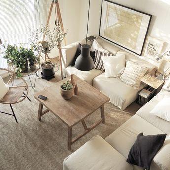 piyohopさんの、ハンドメイド,ソファ,植物,IKEA,照明,無印良品,ソファー,観葉植物,Overview,のお部屋写真