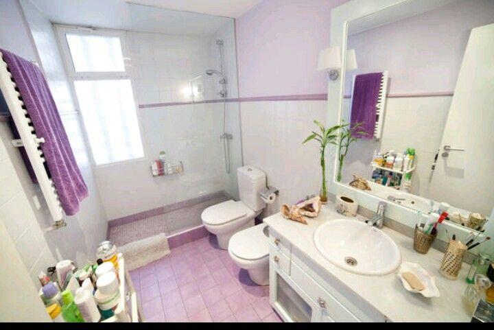 Muebles De Baño Karol: Baños Rosados, Baño De Plata y Cuartos De Baño De Color Púrpura