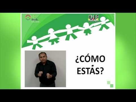 Curso de la Lengua de Señas Mexicana 1 - YouTube