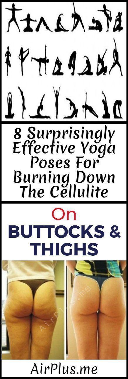 8 Verrassend effectieve yoga houdingen voor het opbranden van de cellulitis op b…