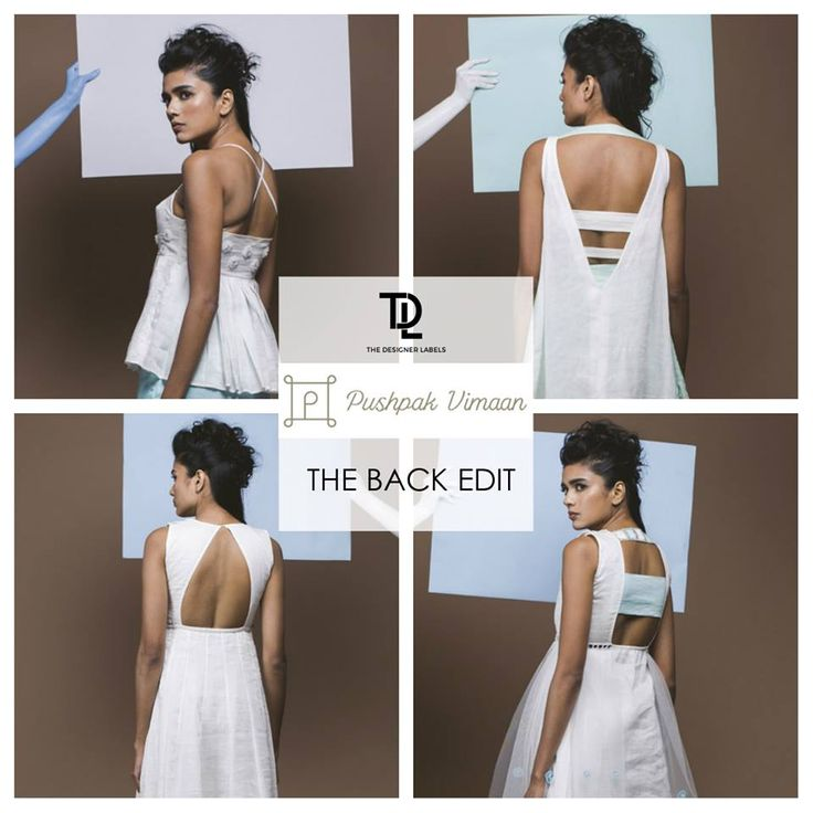The back edit - Pushpak Vimaan #india #fashion #backless #white #dress #top
