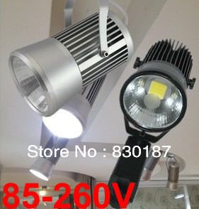 New 2013,85-265V 20W LED track light rail spot lighting,lighting kits,Clothing store lights,Industrial light,White/Warm white $1,540.00