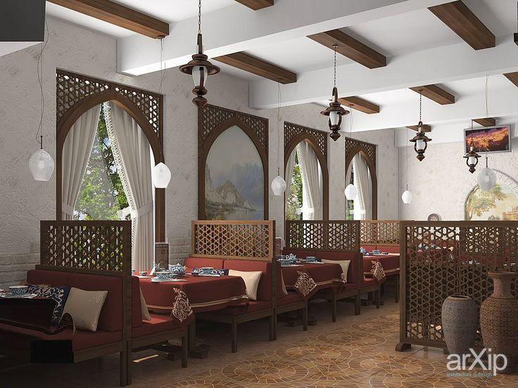 """Чайхана """"Пиала"""". Проект интерьера: интерьер, восточный, марокканский стиль, ресторан, кафе, бар, 80 - 100 м2, зал #interiordesign #moroccan #restaurant #cafeandbar #80_100m2 #hall"""