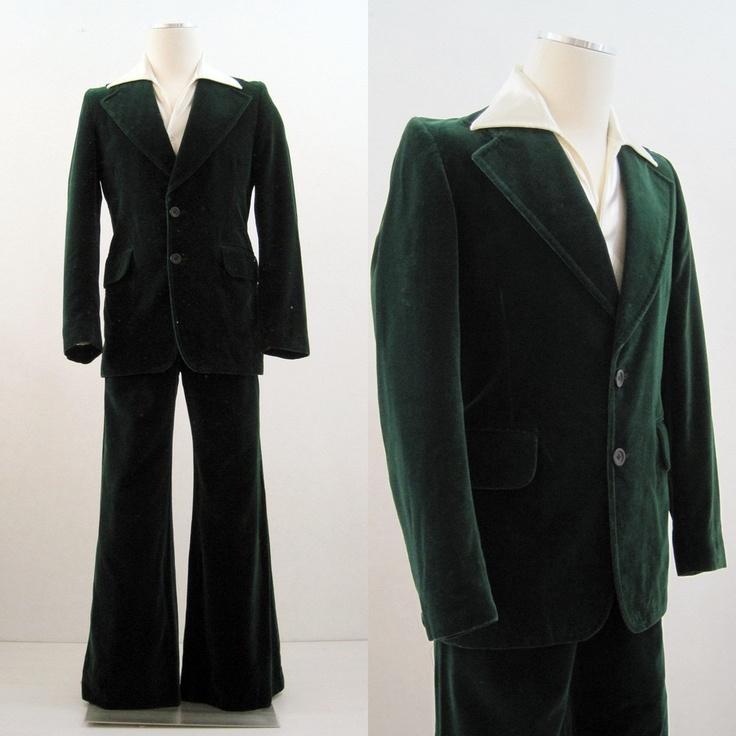 Green Velvet Jacket Mens Shoes