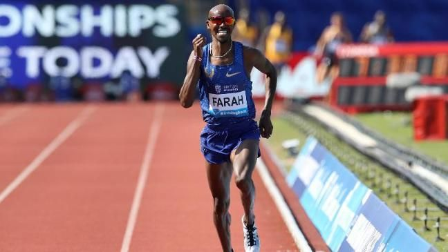 Mo Farah breaks British record as dazzling show sends message to Olympic rivals