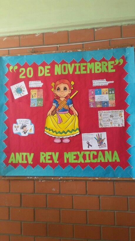 Periódico Mural Noviembre