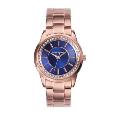 Mark Maddox - Ladies Rose Pink Stainless Steel Watch - MM0007-37 - Online Price £85.00