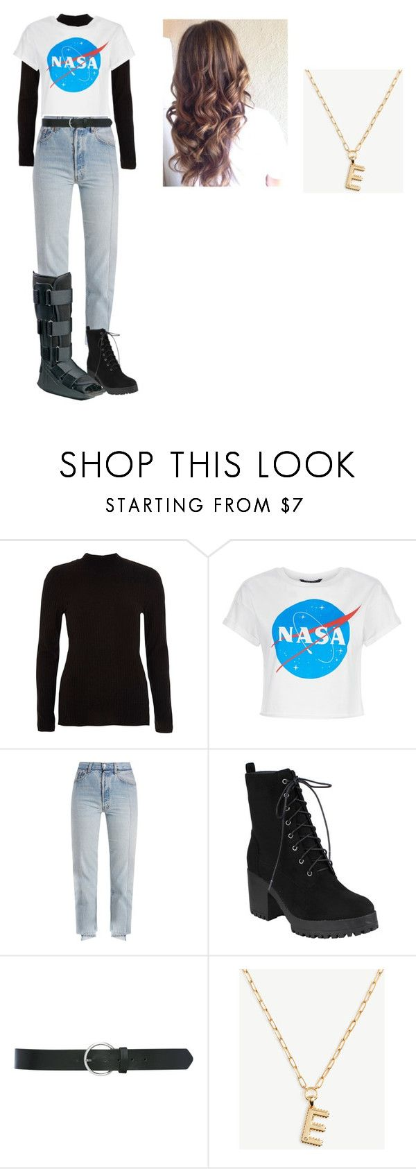 """""""Untitled #95"""" by idatherese04 on Polyvore featuring River Island, Vetements, M&Co and Ann Taylor"""
