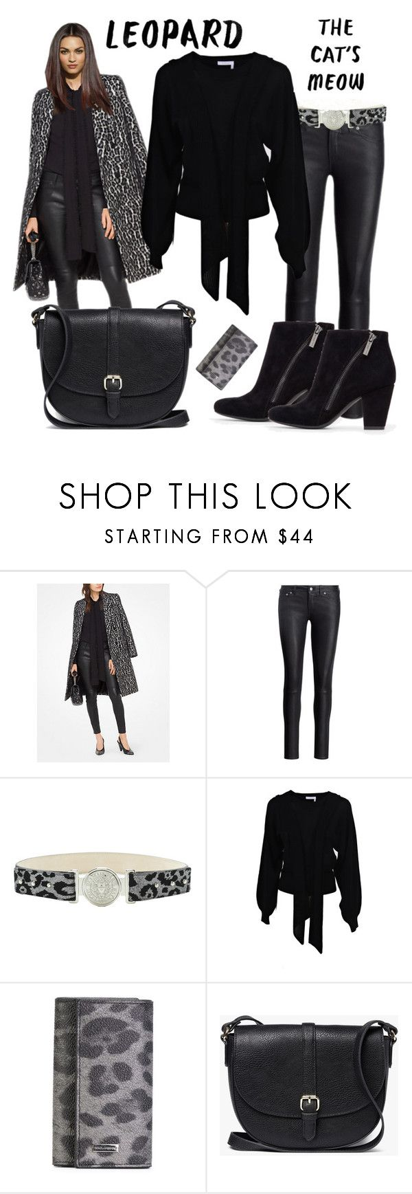 """""""The Cat's Meow"""" by kelli-bailey-ouimet ❤ liked on Polyvore featuring MICHAEL Michael Kors, Polo Ralph Lauren, Chloé, Dolce&Gabbana and John Lewis"""