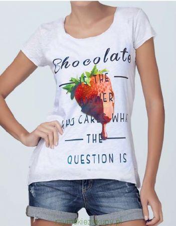 T-shirt Jadea z napisem