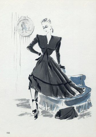 Carven 1947 Pierre Simon