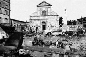 piazza santa maria novella alluvione 1966