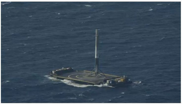 SpaceX Just Landed a Rocket on a Drone Ship