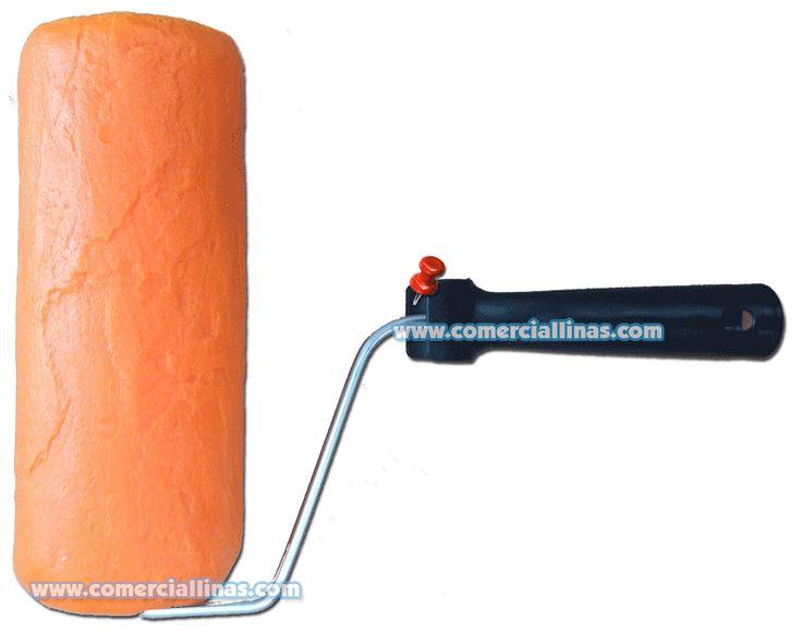 Rodillo textura 7. Moldes para hormigón impreso. La tienda de Comercial Llinás. http://tienda.comerciallinas.com/Hormigon-impreso/Herramientas/Herramientas-reparacion/Rodillos-reparacion