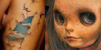 20 tatuaggi incredibili in tre dimensioni