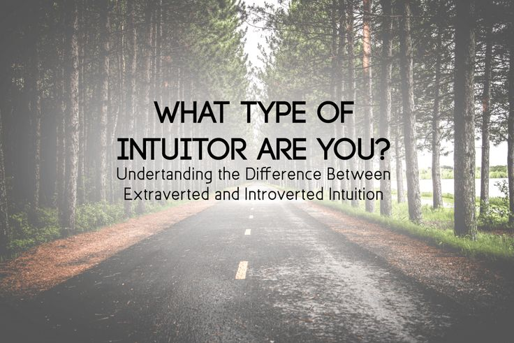 introverted intuition with extraverted thinking Introverted intuition – ni – visionary insight the four judging functions are:  extraverted thinking – te – logical outcomes introverted thinking.