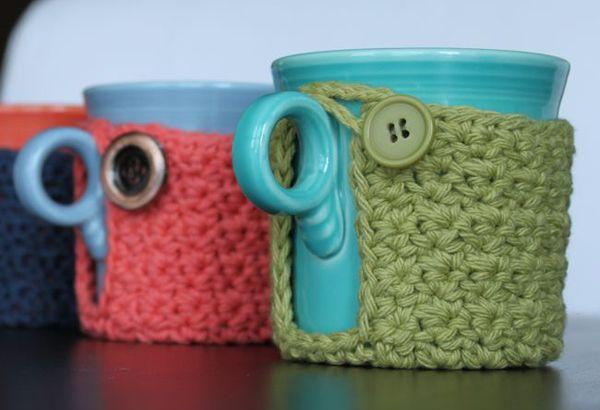 On aime ces tasses en tricot! ©Chaann