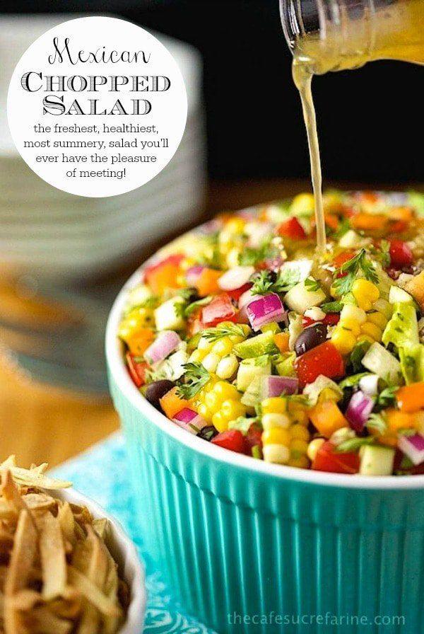 Mexikanischer gehackter Salat