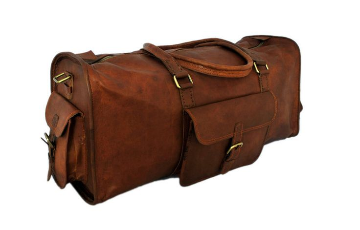 One of the best suitable leather duffel which will be an amazing option if your leaving for travel