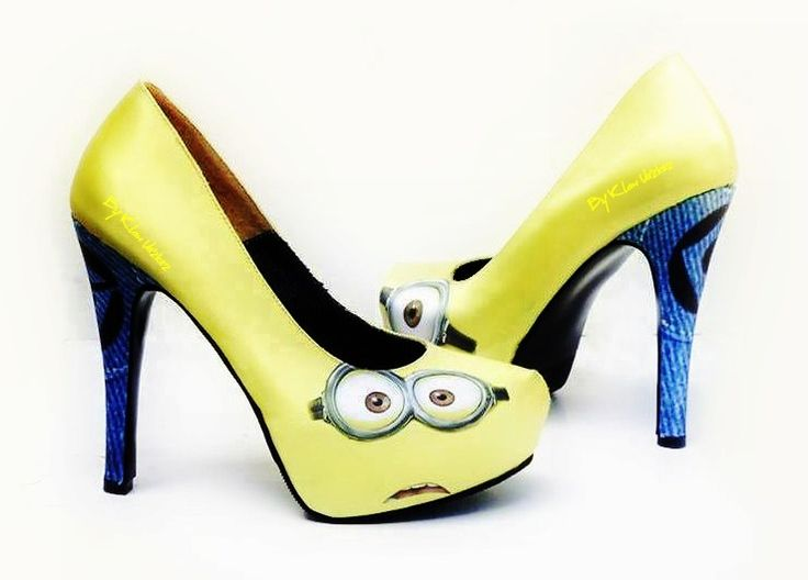 17 best ideas about minion shoes on converse