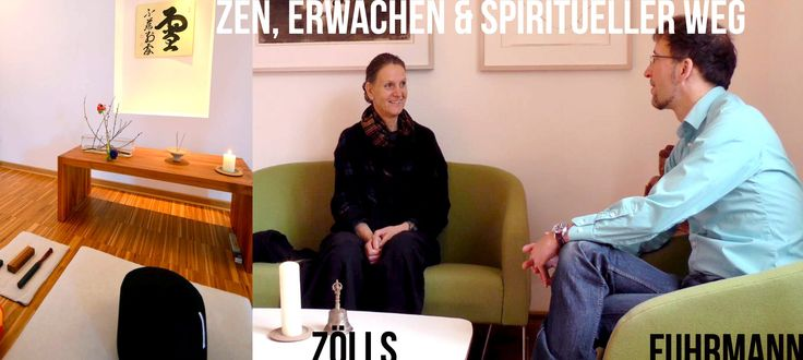 Zen-Meisterin Doris Zölls & Jörg Fuhrmann - Meditation, Therapie und Spi...