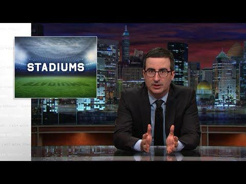 John Oliver Tackles the Tricky Funding of Sports Stadiums on 'Last Week Tonight'
