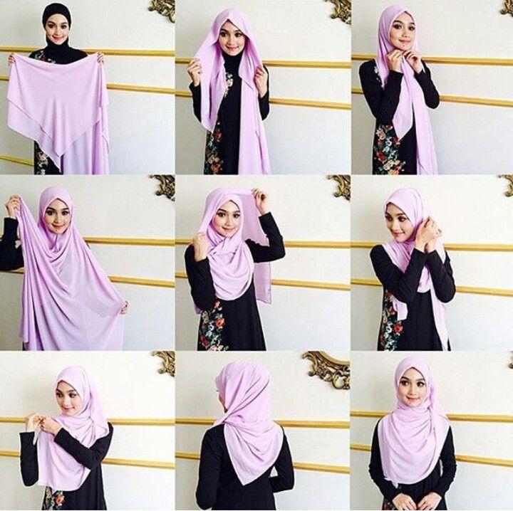 Cara pakai shawl