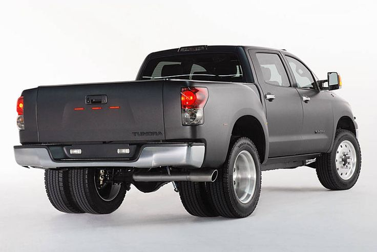 Classic dually trucks for sale | ... Dually Project Truck - SEMA Show in Las Vegas - Diesel Tundra Truck at